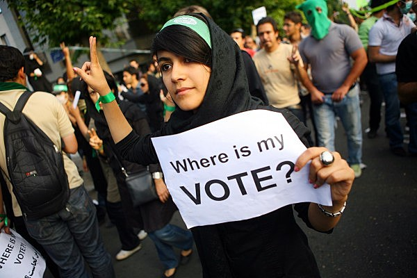 Unrest After Iranian Presidential Elections