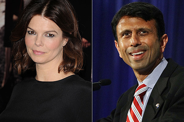 Jeanne Tripplehorn and Bobby Jindal