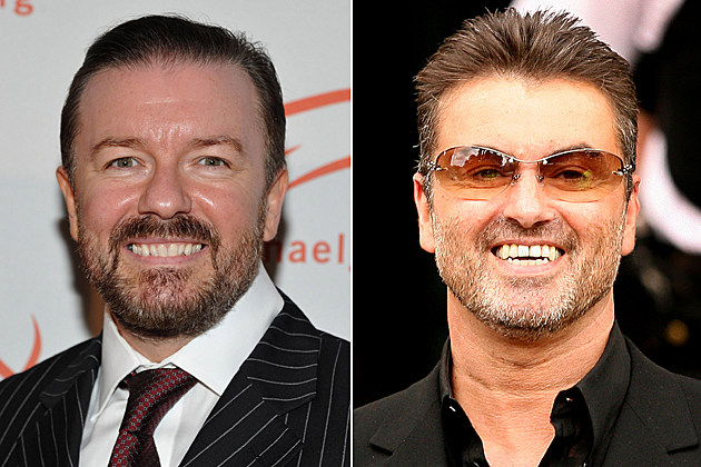 Ricky Gervais, George Michael