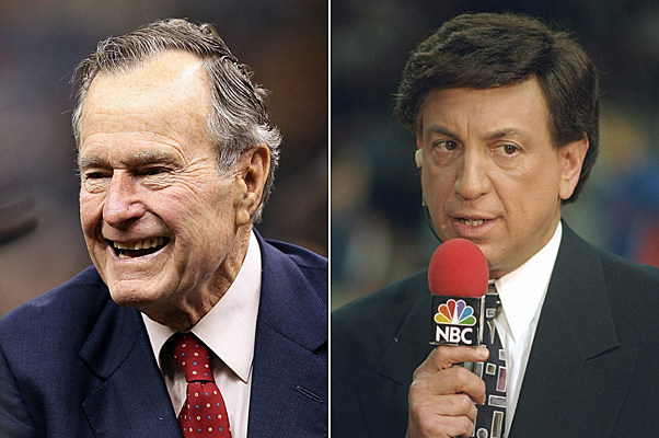 George H.W. Bush, Marv Albert
