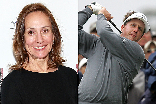 Laurie Metcalf, Phil Mickelson