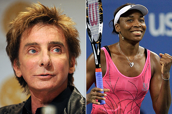 Barry Manilow, Venus Williams