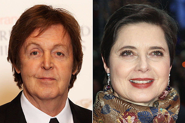 Paul McCartney, Isabella Rossellini