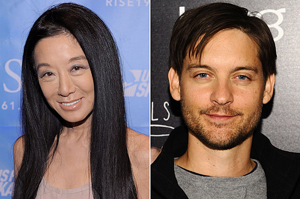 Vera Wang, Tobey Maguire