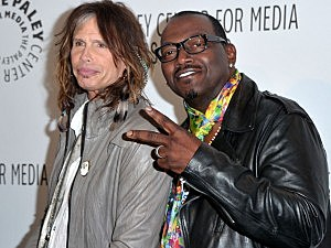 Steven Tyler and Randy Jackson