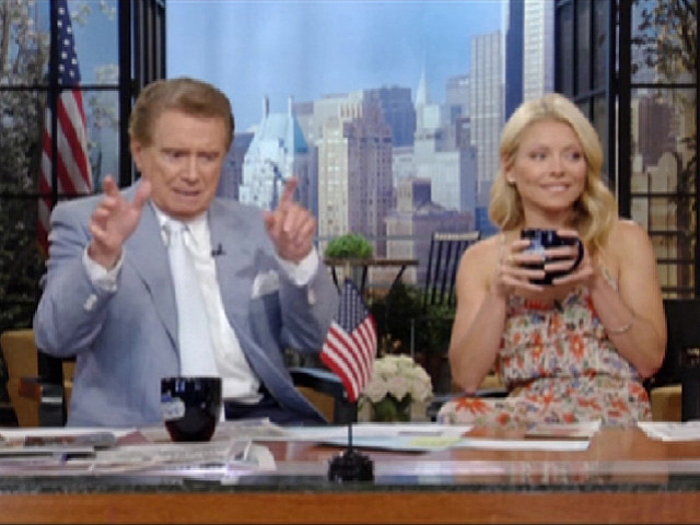 Regis Philbin, Kelly Ripa