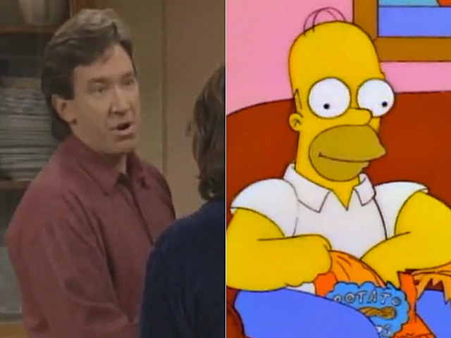 Home Improvement and The Simpsons