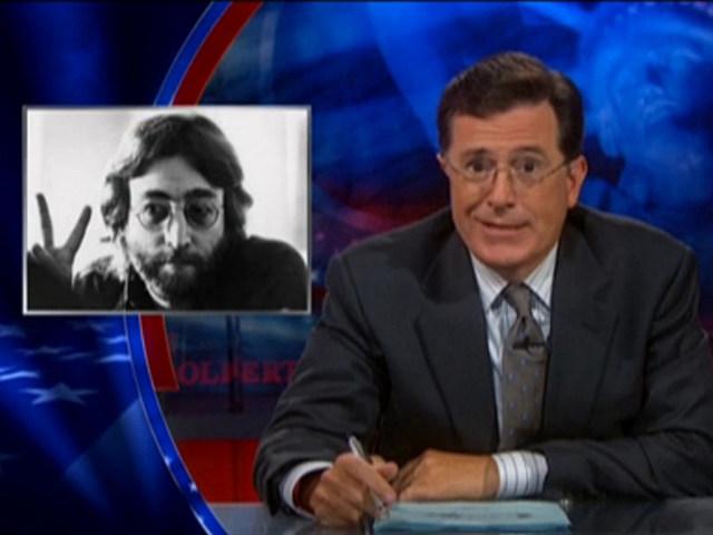John Lennon, Stephen Colbert