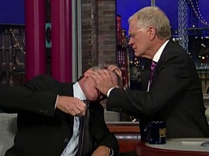David Letterman, Harrison Ford
