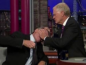 David Letterman, Harrison Ford