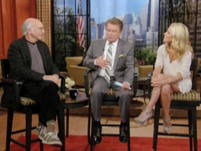 Larry David, Regis Philbin, Kelly Ripa