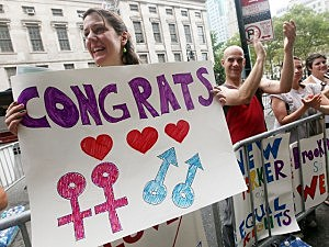 New York Begins Gay Marriage