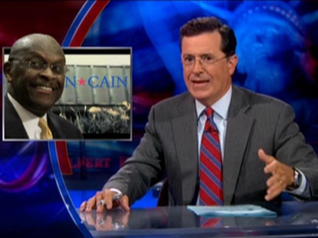 Stephen Colbert, Herman Cain