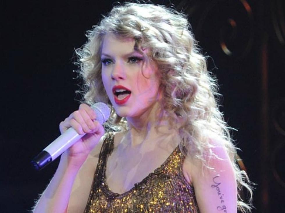 Taylor Swift Explains The Lyrics Written On Her Arm