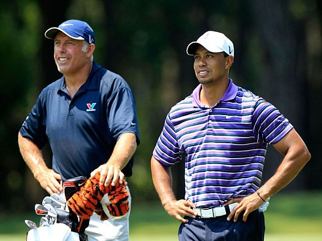 Tiger Woods and Steve Williams Split