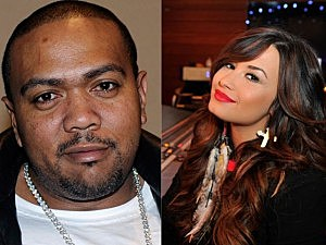 Timbaland and Demi Lovato