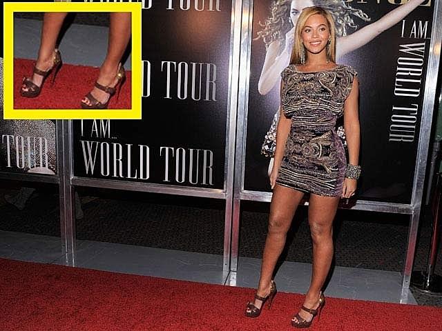 Beyonce's Feet