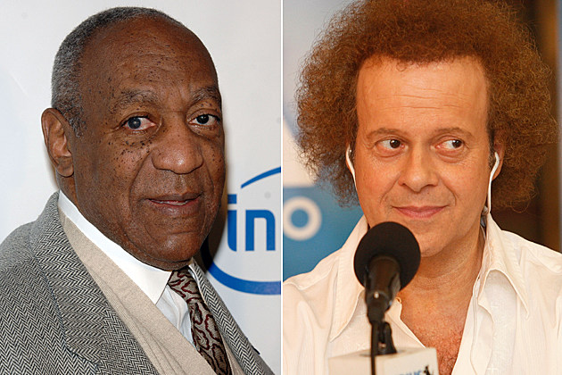 Bill Cosby, Richard Simmons