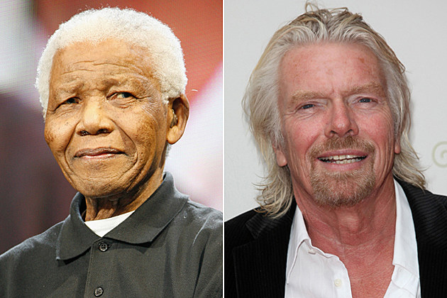 Nelson Mandela, Sir Richard Branson