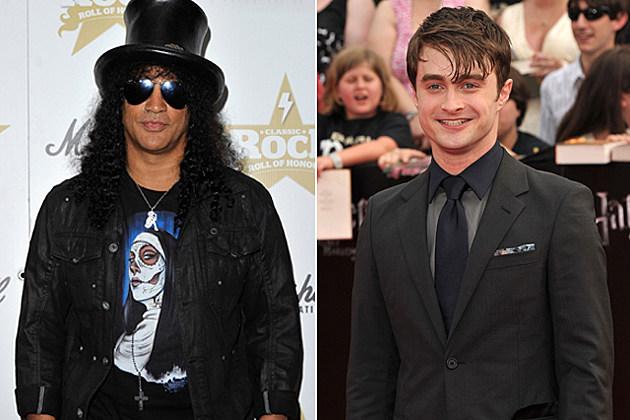Slash, Daniel Radcliffe