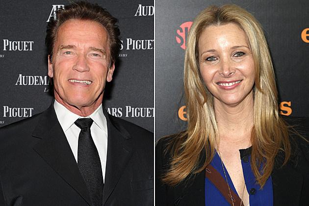 Arnold Schwarzenegger, Lisa Kudrow