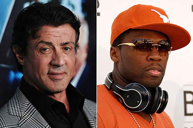 Sylvester Stallone, 50 Cent