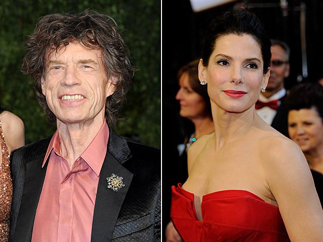 Mick Jagger, Sandra Bullock