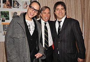 Rich Hil, Tommy Hilfiger and Andy Hilfiger