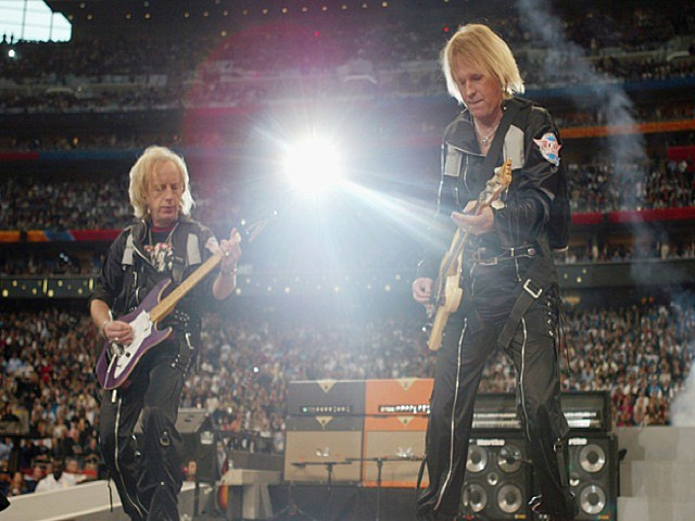 Aerosmith_Brad Whitford and Tom Hamilton