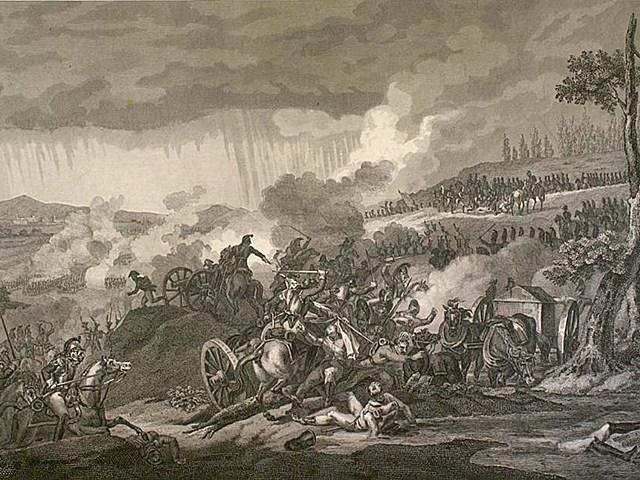 Battle of Dresden by Naudet