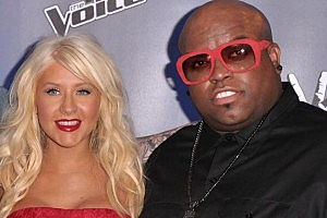 Christina Aguilera and Cee-Lo Green