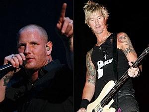 Corey Taylor, Duff McKagan