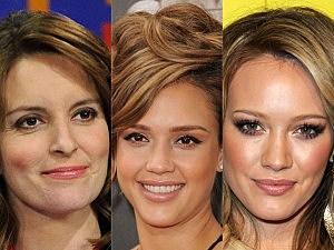 Tina Fey, Jessica Alba, Hilary Duff