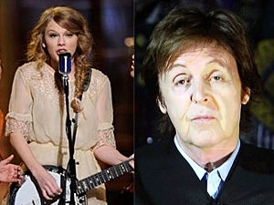Taylor Swift, Paul McCartney