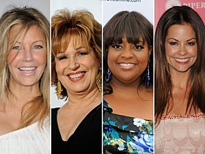 Heather Locklear, Joy Behar, Sherri Shepherd, Brooke Burke