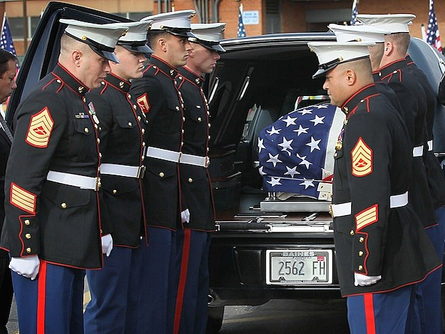 Marine Killed In Afghanistan Is Buried In Illinois