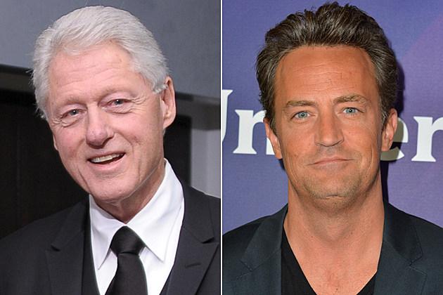 Bill Clinton, Matthew Perry