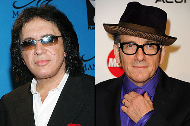 Gene Simmons, Elvis Costello