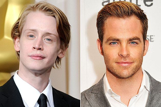 Macaulay Culkin, Chris Pine