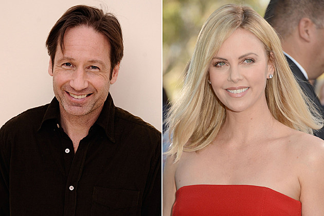 David Duchovny, Charlize Theron