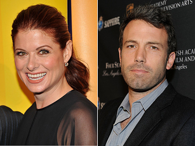 Debra Messing, Ben Affleck