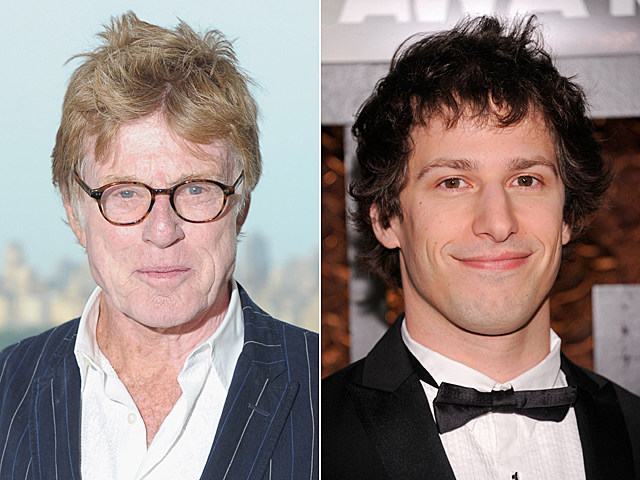 Robert Redford, Andy Samberg