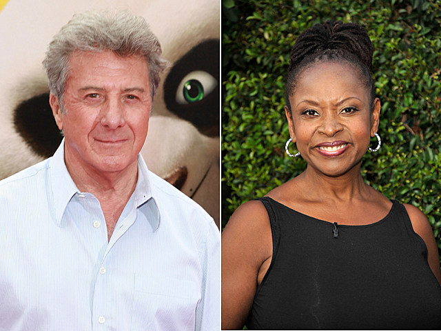 Dustin Hoffman, Robin Quivers
