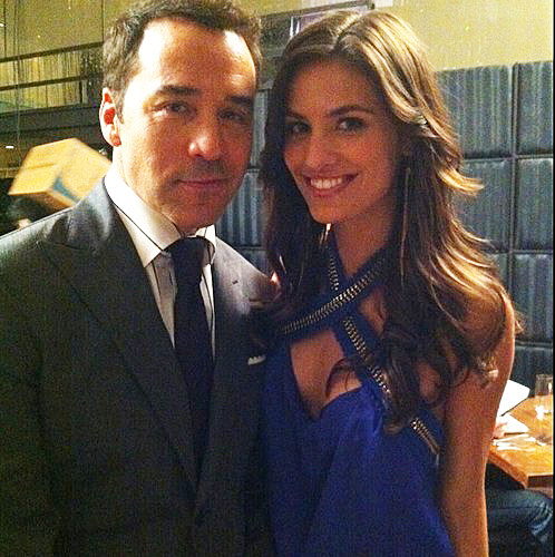 Breanne Racano and Jeremy Piven