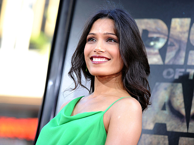 Freida Pinto Rise Of The Planet Of The Apes Premeire
