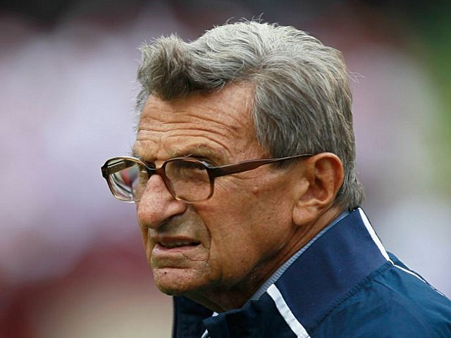 Joe Paterno injured