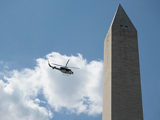 Earthquake damages Washington Monument on Aug. 23.