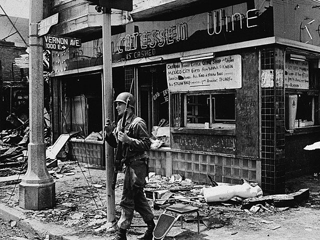 Aftermath of Watts Riots
