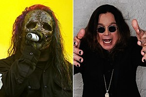 Slipknot singer Corey Taylor and Ozzy Osbourne