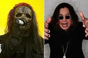 Slipknot singer Corey Taylor and Ozzy Osbourne